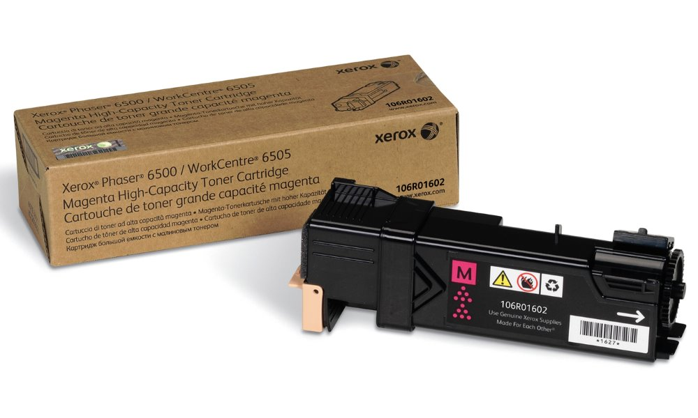 Xerox original toner pro WC6505/6500/ purpurový  2 500 str.