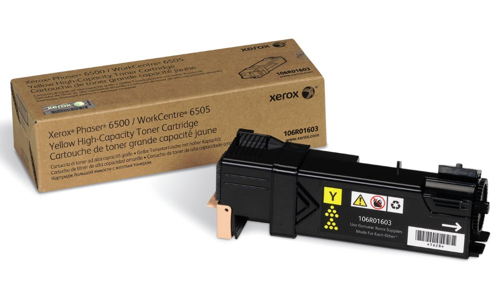 Xerox original toner pro WC6505/ 6500/ žlutý 2 500 str.