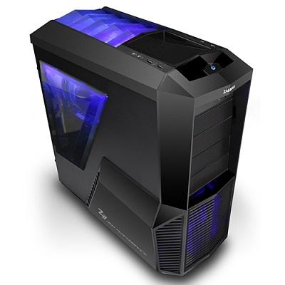 Skříň ZALMAN Mid Tower Z11 PLUS Skříň, Middle Tower, bez zdroje, černá, 2x USB3.0, 1x 120mm LED fan Z11 PLUS
