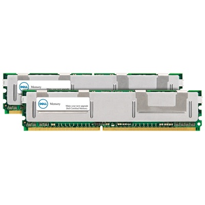 Operační paměť DELL 8 GB ECC Operační paměť, 8 GB, DDR2, 667 MHz, 2x4 GB, paměťový modul, pro Dell PowerEdge 1950, 1955, 2900, 2950, M600, R900 SNP9F035CK2/8G