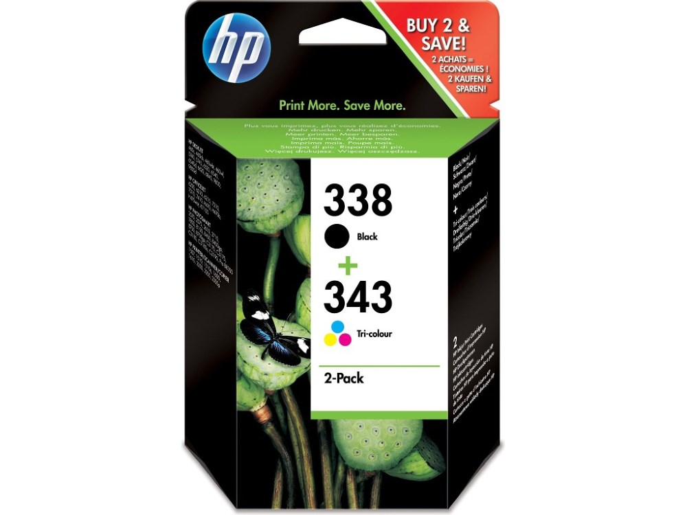 Cartridge inkoustová náplň HP Q8765EE + C8766EE, SD449EE SD449EE