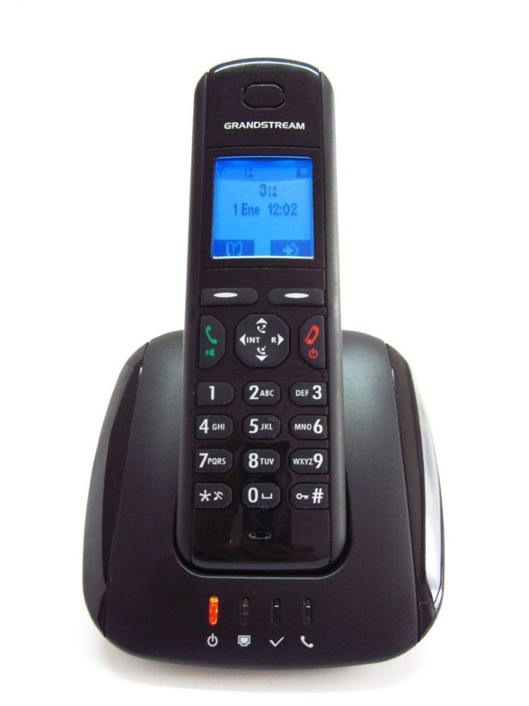 Bezdrátový IP DECT telefon Grandstream DP-715 Bezdrátový IP DECT telefon, DECT, GAP, LCD displej, až 5 x SIP DP715