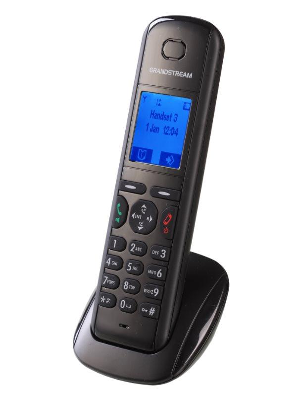 Bezdrátový IP DECT telefon Grandstream DP-710 Bezdrátový IP DECT telefon, přídavné sluchátko k IP tel. DP715, DECT, GAP, LCD displej, až 5 x SIP DP710