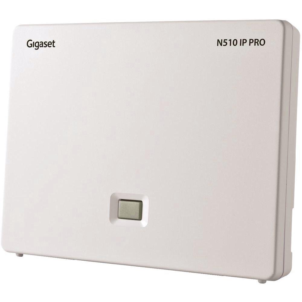 Základna SIEMENS GIGASET N510 IP PRO Základna, až 6 VoIP účtů, HD kvalita zvuku GIGASET-N510-IP-PRO