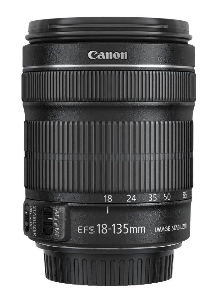 Objektiv Canon EF-S 18 - 135 mm f/3,5-5,6 IS STM Objektiv, EF-S, 18 - 135 mm, f/3,5-5,6, IS, STM, zoom 6097B005AA