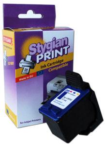 Inkoustová náplň Stygian za HP 21 černá Inkoustová náplň, kompatibilní s HP 21, C9351A, bez čipu, 19ml, černá 3312025025