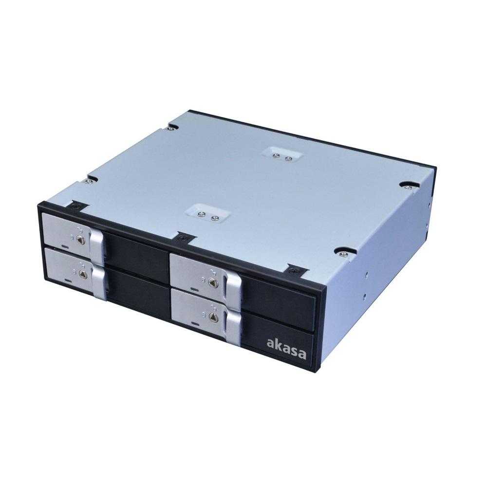 Box na disk AKASA AK-IEN-02 Box na disk, externí, pro 4x2,5 HDD, SSD disky AK-IEN-02