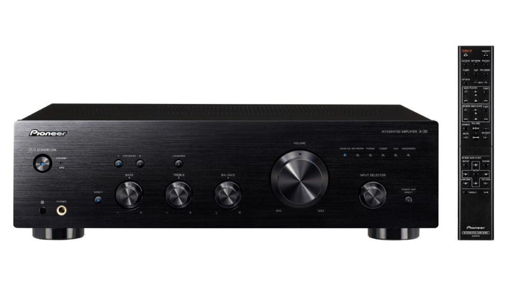 Audio zesilovač PIONEER A-30-K Audio zesilovač, 2x70W 4, černý A-30-K