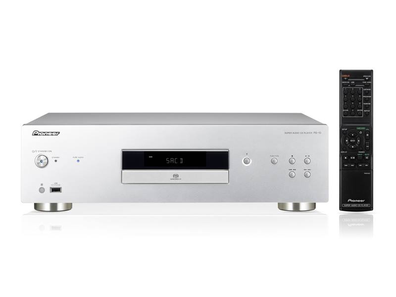 CD přehrávač PIONEER PD-10-S CD přehrávač, SA/CD, Direct Stream Digital playback, stříbrný PD-10-S