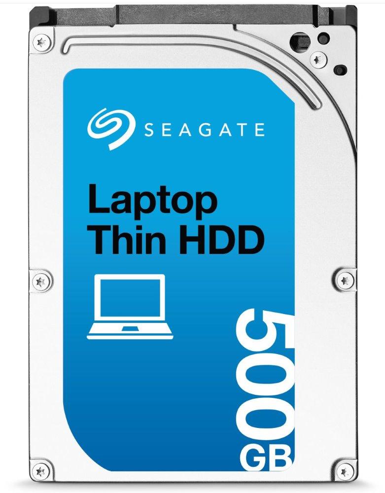 Pevný disk Seagate Momentus Thin HDD 500 GB Pevný disk, 500 GB, SATA300, interní, 2,5, 5400 RPM, 16 MB ST500LT012