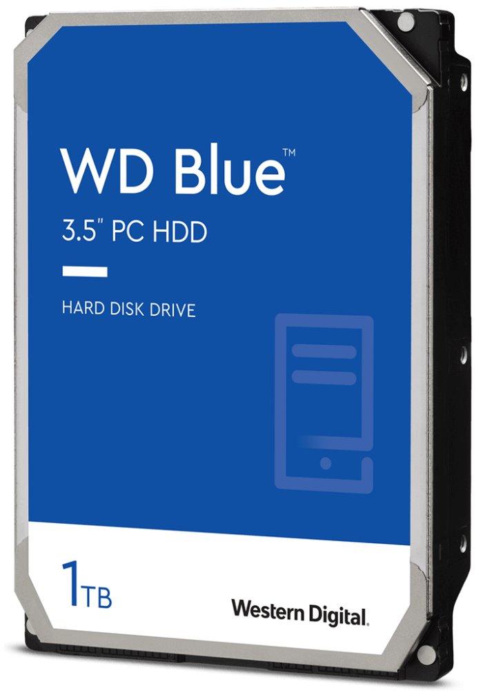"""Pevný disk WD Caviar Blue 1TB Pevný disk, interní, 1TB, SATA III, 3,5"""", 7200 rpm, 64MB"""