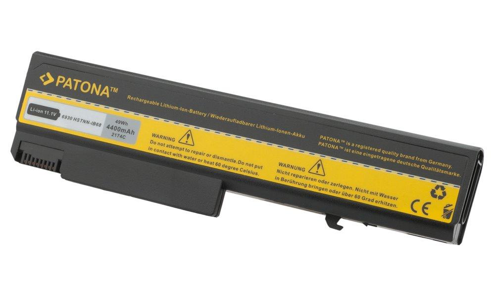 Baterie PATONA pro HP 4400 mAh Baterie, 4400 mAh, pro notebooky HP Compaq Business Notebook 6500b, 6530b, 6730b, EliteBook 6930p, 8440p, 8530p, ProBook 6440b, 6450b, 6550b, neorigin PT2174