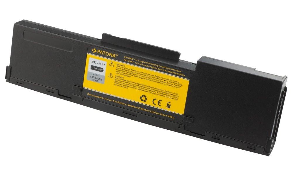 Baterie PATONA pro Acer 4400 mAh Baterie, 4400 mAh, pro notebooky Acer Aspire 1320, 1360, 1500, 1520, 1610,1620, 1640, 1660, 1670, 3010, 5010, Extensa 2000, 2500, TravelMate 2000, 21 PT2226