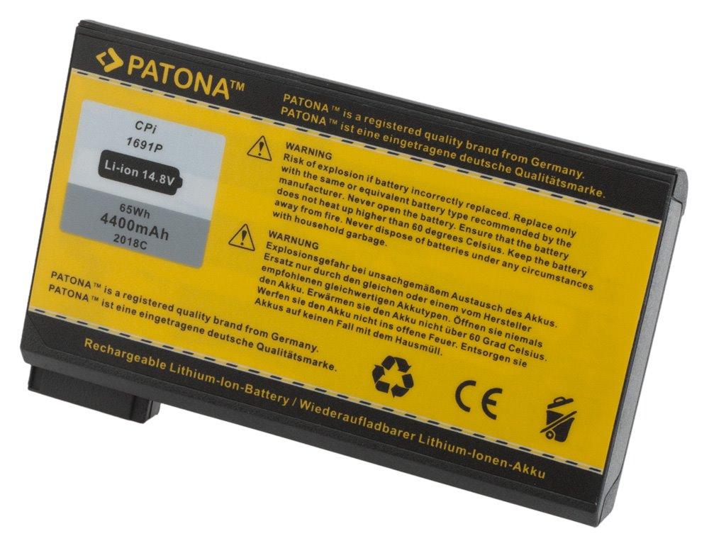 Baterie PATONA pro Dell 4400 mAh Baterie, 4400 mAh, pro notebooky DELL Inspiron 2500, 3700, 3800, 4000, 8000, Latitude C, CP, PP, PPL, Precision M40, M50, neoriginální PT2018