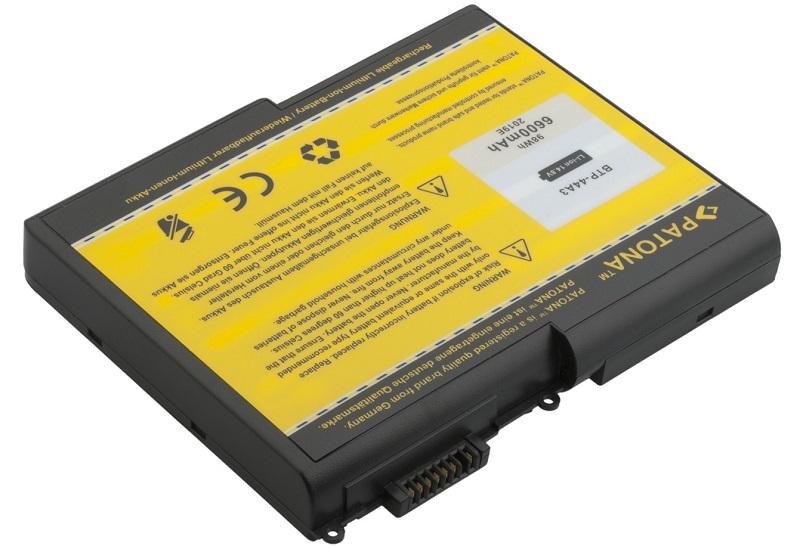 Baterie PATONA pro Fujitsu-Siemens 6600 mAh Baterie, 6600 mAh, pro notebooky Fujitsu-Siemens Amilo řada D, Acer Aspire, Dell, neoriginální PT2019
