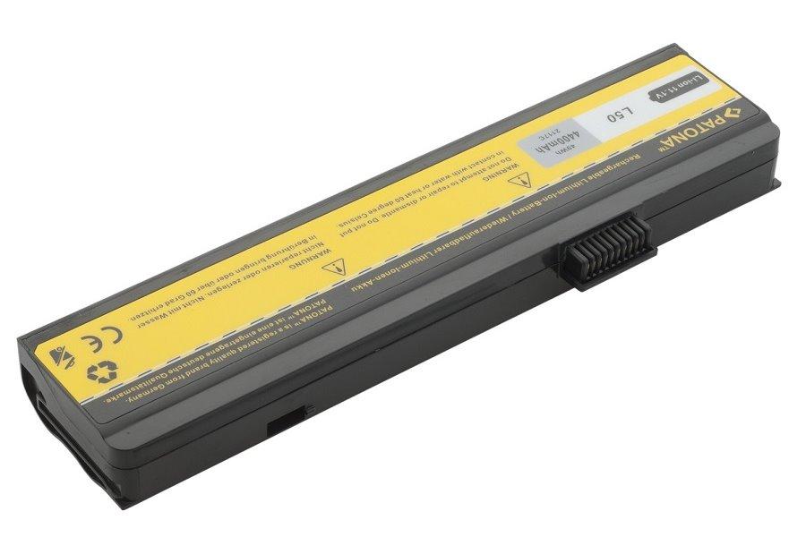 Baterie PATONA pro Fujitsu-Siemens 4400 mAh Baterie, 4400 mAh, pro notebooky Fujitsu-Siemens Amilo řada Li, Pa, Pi, neoriginální PT2117
