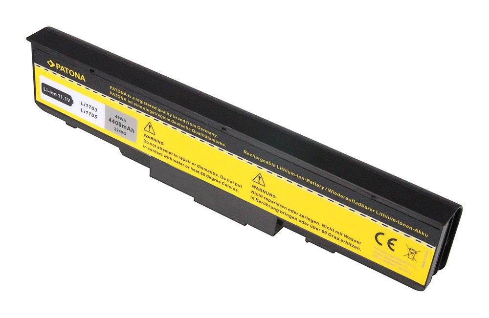 Baterie PATONA pro notebook AMILO PRO V2030 4400mA Baterie, pro notebook FUJITSU SIEMENS, Li-Ion, 11,1V PT2249