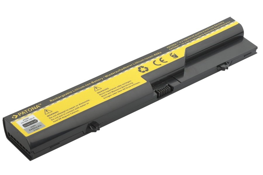 Baterie PATONA pro HP 4400 mAh Baterie, 4400 mAh, pro notebooky HP ProBook, Compaq, neoriginální PT2168