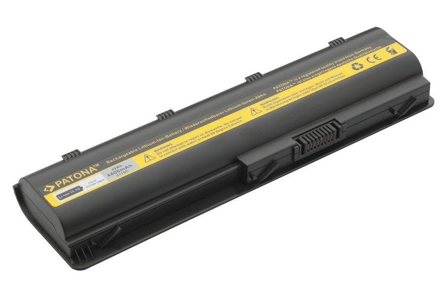 Baterie PATONA pro HP 4400 mAh Baterie, 4400 mAh, pro notebooky HP Compaq Presario CQ, HP G, Envy, Pavilion dm, neoriginální PT2176