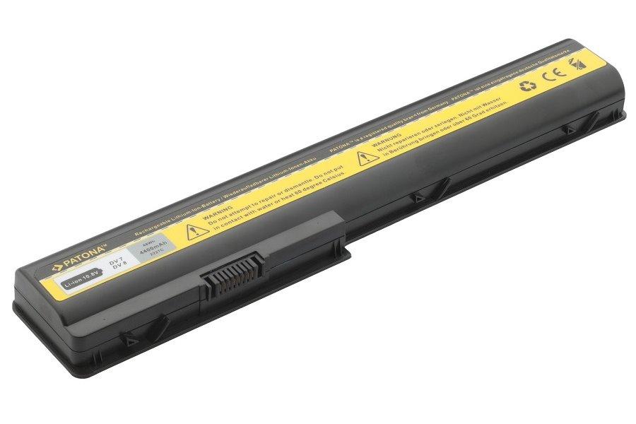 Baterie PATONA pro notebook HP Baterie, 4400 mAh, pro notebooky HP Pavilion DV, HDX, neoriginální PT2227