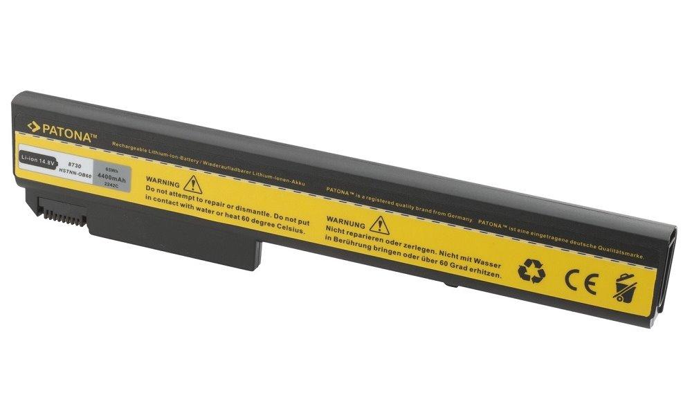 Baterie PATONA pro HP 4400 mAh Baterie, 4400 mAh, pro notebooky HP ProBook, EliteBook, neoriginální PT2242