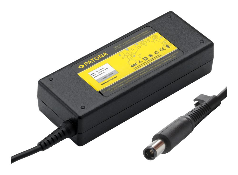 Napájecí adaptér PATONA pro HP 90W Napájecí adaptér, pro notebooky HP, 90W, 19V, 4.74A, Náhradní koncovka 7.4 x 5.0mm + pin PT2534