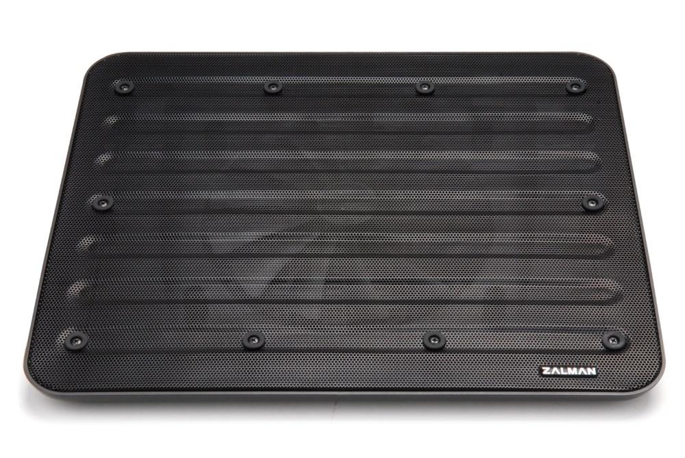 Chladící podložka ZALMAN ZM-NC3 černá Chladící podložka, pod notebook, černá, 12-17, 1x 200 mm fan ZM-NC3