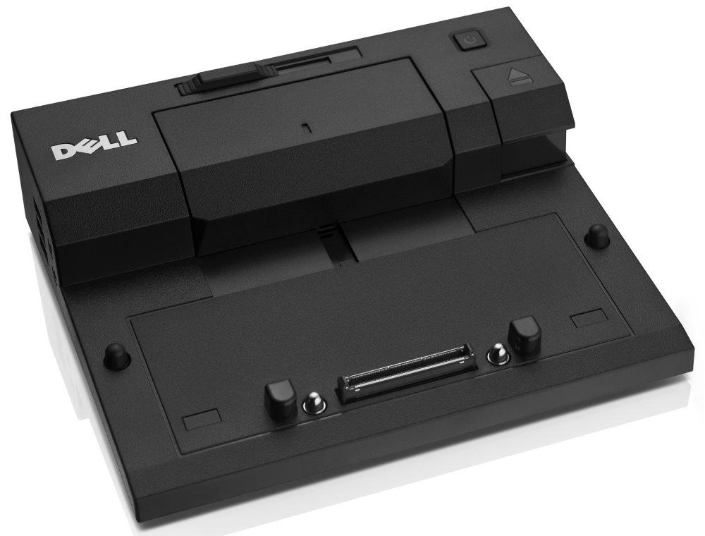 Dokovací stanice DELL EURO1 E-port Dokovací stanice, replikátor, jednoduchá, 130W AC adap., USB 3.0, s nap. kabelem, pro Latitude 452-11424