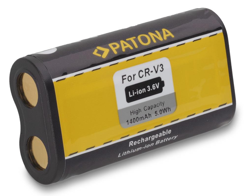 Baterie PATONA kompatibilní s Kodak CRV-3 Baterie, pro fotoaparát, 1400mAh, Li-Ion PT1062
