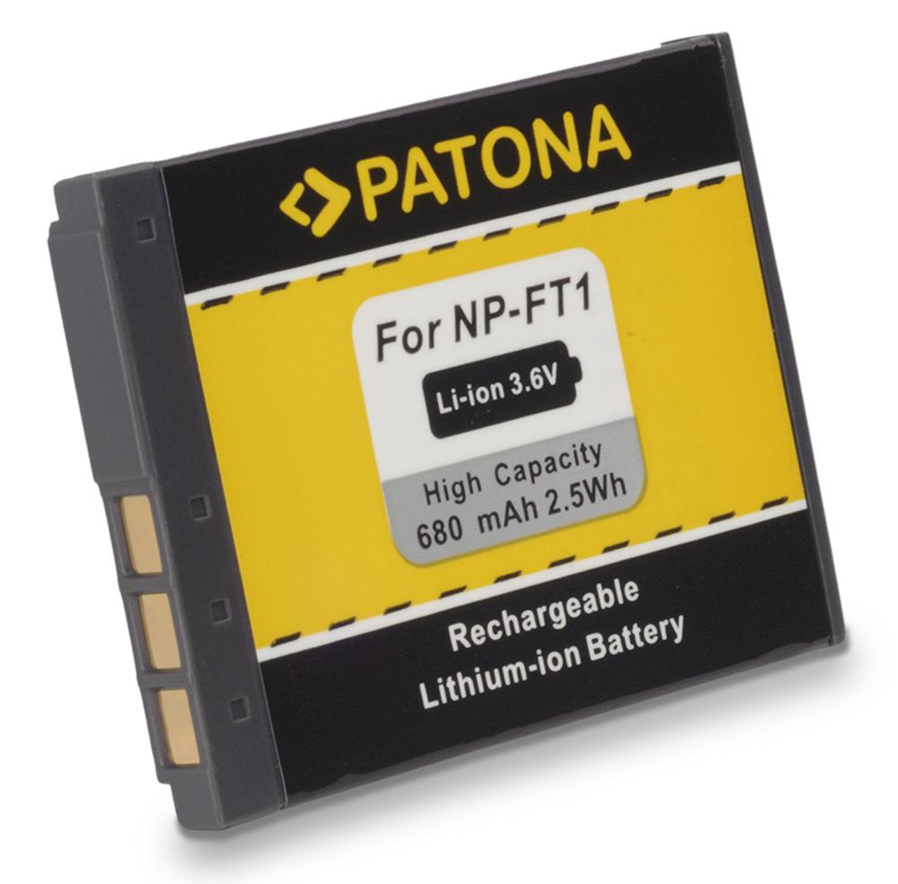 Baterie PATONA kompatibilní s Sony NP-FT1 Baterie, pro fotoaprát, 680mAh, Li-Ion PT1056